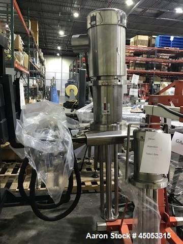 Used- Ross Homogenizer, Model HSM525, 25 hp. Serial # 108496.