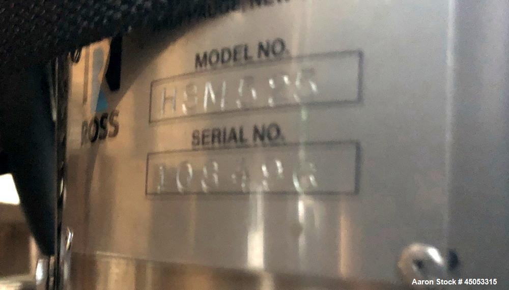 Used- Ross Homogenizer, Model HSM525, 25 hp. Serial # 108496.