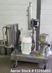 Quadro Ytron Model Z-5 Inline Mixer/ Emulsifier. 3- stage, sanitary, 316 SS Quadro Ytron Model Z-5 ...