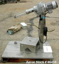 Used: Stianless Steel Stober Homomixer, Model R45-0000-130-2