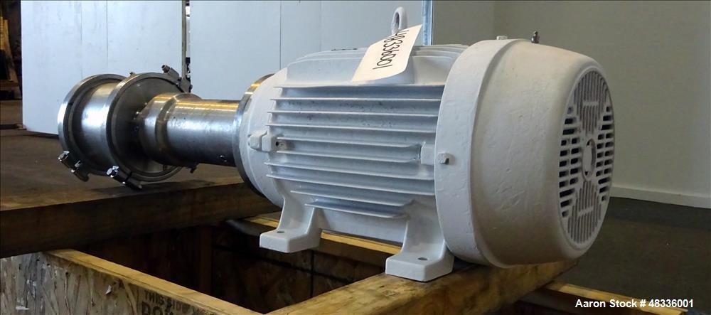 Used- Quadro Ytron Z Single-Pass Emulsifier / Homogenizer, Model Z3, 316 Stainle