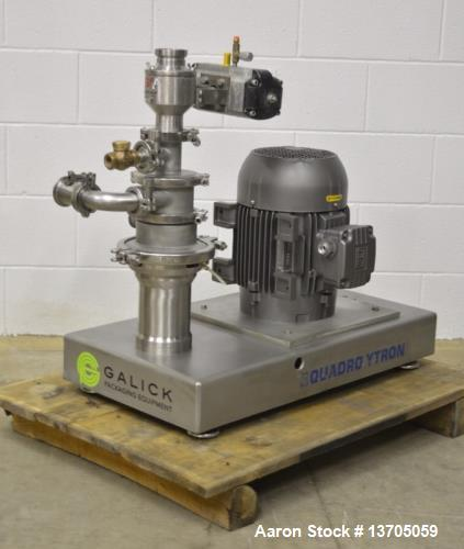 Used- Model ZC-1 Quadro Ytron Blender System