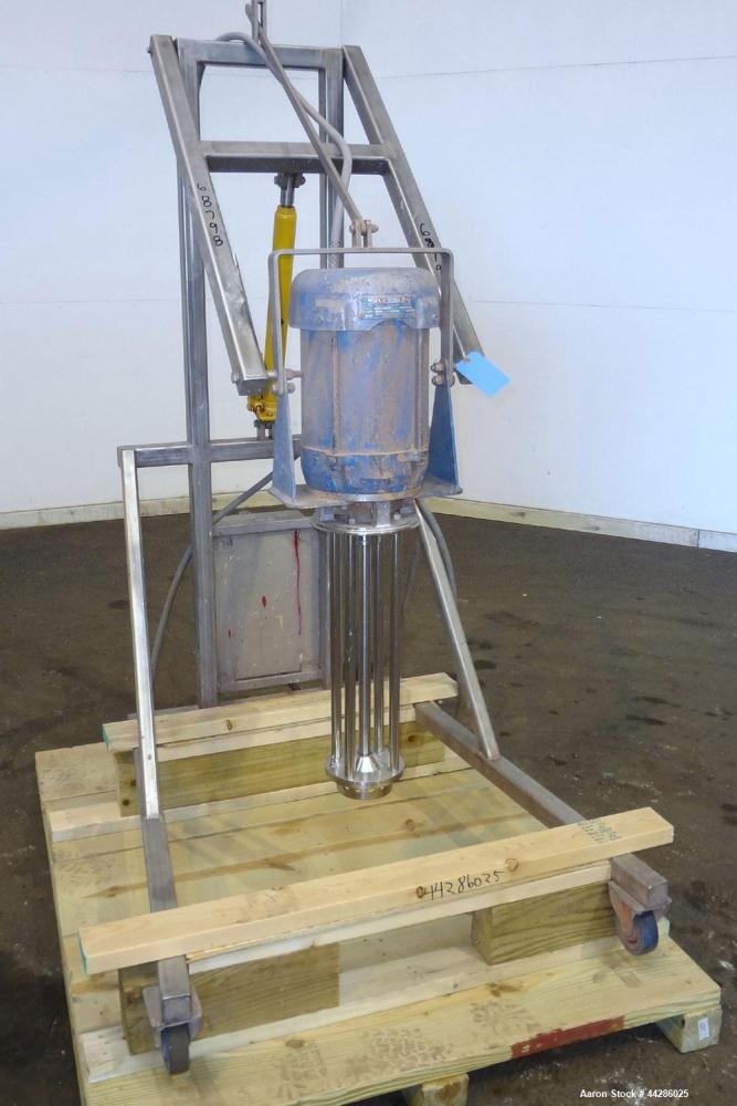 Used- Silverson Batch Mixer Emulsifier, Model FX6