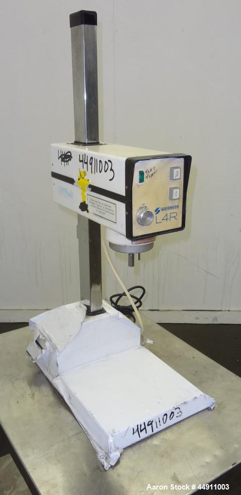 Used- Silverson Laboratory Batch Mixer Emulsifier