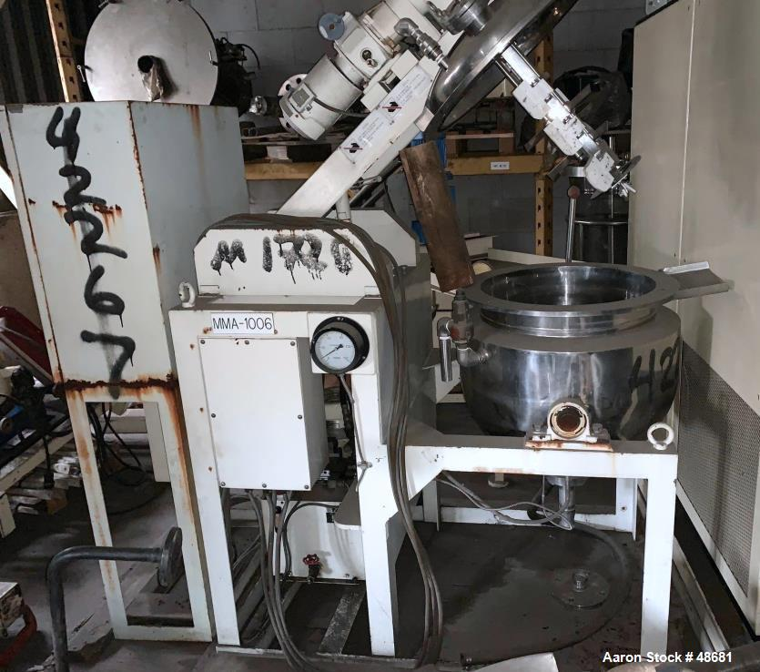 Used- Tokushukika Kogyco Co Ltd Agi-Homo Mixer, Model 20-50
