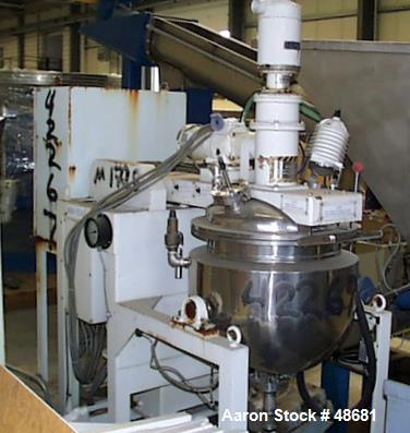 Used- Stainless Steel Tokushukika Kogyco Co Ltd Agi-homo mixer, Model 20-50. 20