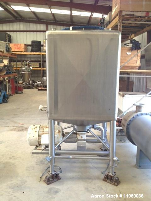 Used-300 Gallon APV Liquifier, Model CLV300