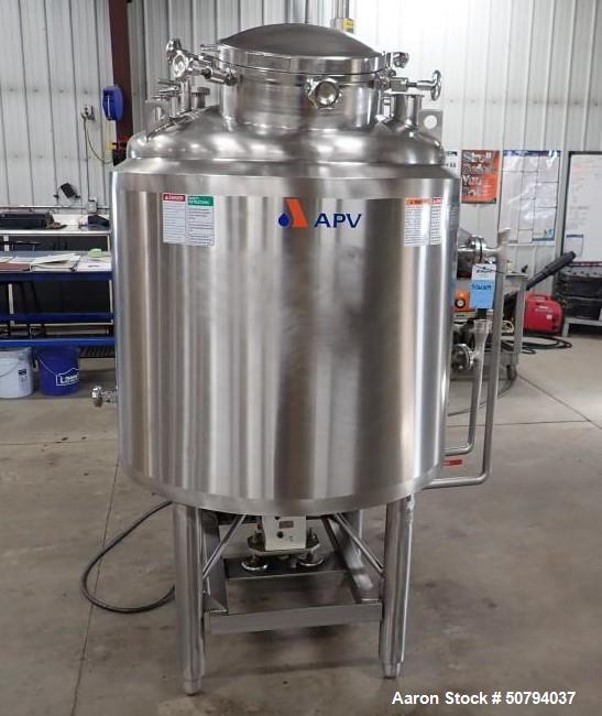 Used-APV Crepaco 200 Gallon Jacketed Liquefier
