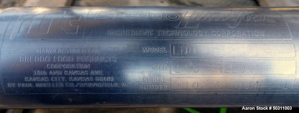 Used- Breddo Likwifier, Model LDD