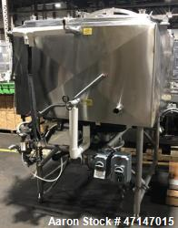 Used-Breddo LDTWW 300 Gallon Jacketed and Stainless Steel Likwifier