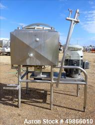 Used- Breddo Likwifier, 100 Gallon, Model LOSWW, Stainless Steel