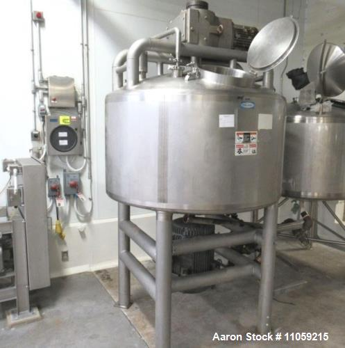 Used-  Walker Jacketed Likwifier With Sweep Mixer