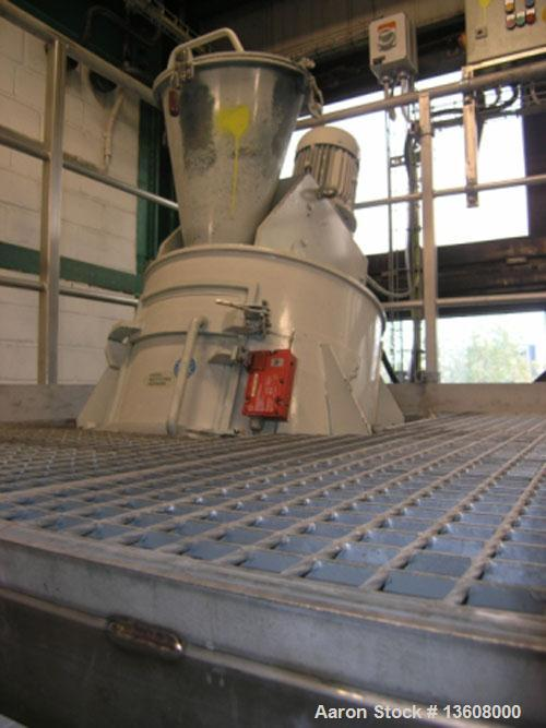 Used-Fa.Ruberg Mischtechnik-Paderborn Mixer, type VM 100. Stainless steel construction on product contact parts. Working cap...