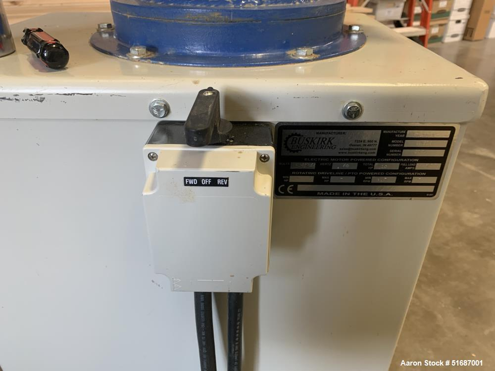 Used-Buskirk Model PM810 Pellet Mill
