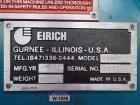 Used- Eirich Mixer, Model RV-15.