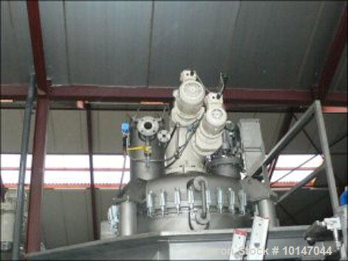 Used- Stainless Steel Bolz MF-030 Conical Dryer