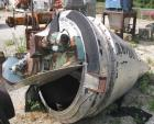 Used- Nauta Mixer, ModelMBX 350, 304 Stainless Steel. 35 Cubic feet, 55