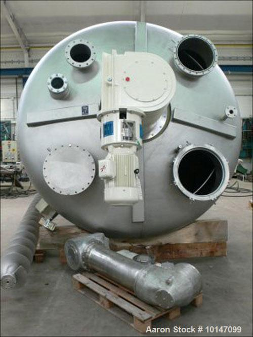 Used- Stainless Steel Vrieco S-70 KB-S Conical Dryer