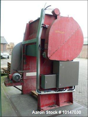 Used-Vrieco T-40 RB-3 Conical Dryer, 316 (1.4401) stainless steel. Working capacity 141.3 cubic feet (4000 liter), total cap...