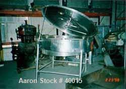 Used- Stainless Steel Albany Engineered Systems Fine Curd Cheese Saver, Model 3865