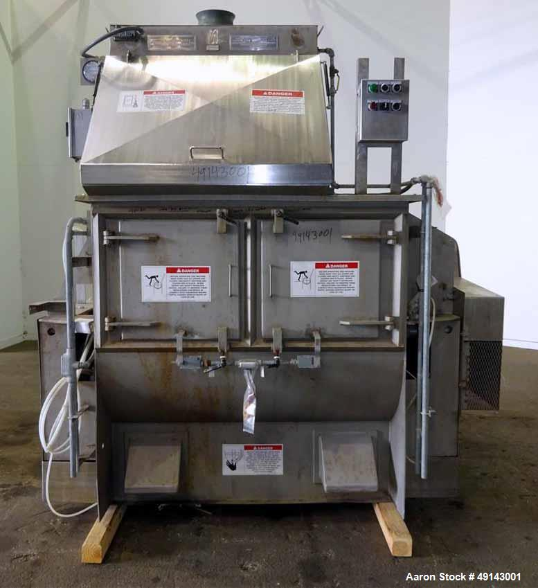 Used- American Process Systems Forberg Fluidized Zone Mixer, Model FZM-35