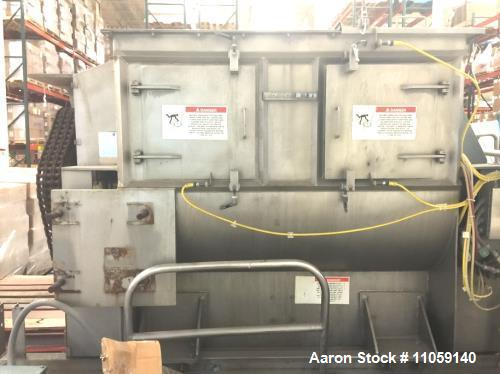 Used- American Process Systems Paddle Blender, Model FZM-53
