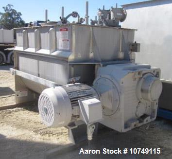 Used- American Process Systems (Eirich) Cubic Foot Sanitary Paddle Blender