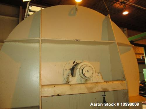"Used- Blommer 17,500 lb, Carbon Steel, Water Jacketed Chocolate Mixer. Vessel dimensions: 72"" in diameter, 126"" long. Low pr..."