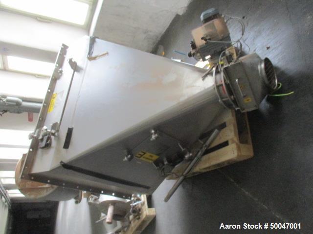 Used- Dinnissen Pegasus Twin Paddle Mixer, Type 305-500-7,5.