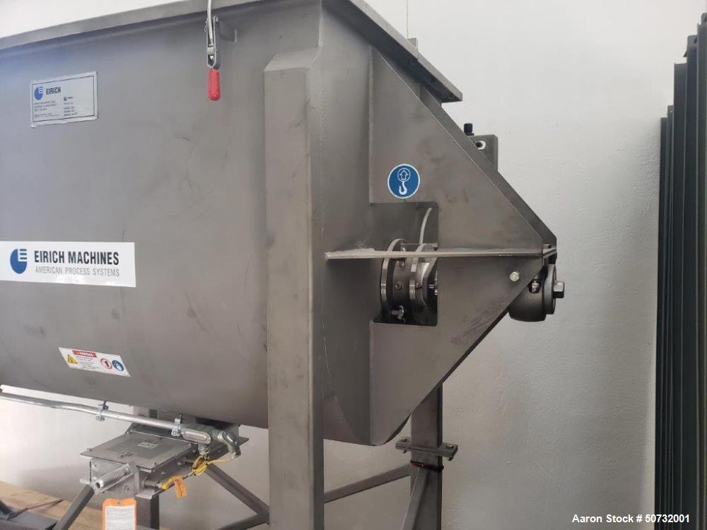 Used- Eirich Paddle Mixer, Model FPB020