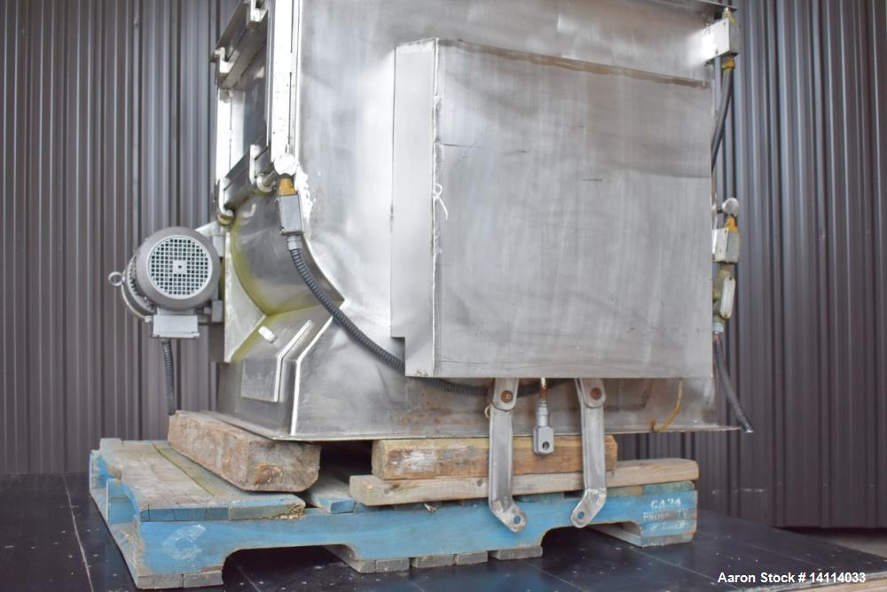 Used- Forberg Stainless Steel Paddle Blender