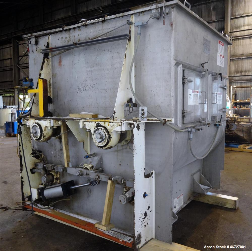Used- American Process Forberg Twin Shaft Fluidizer Zone Mixer, Model FZM-70, 70