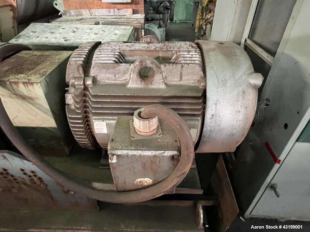 Used- Hough Forberg Twin Shaft Fluidizer, Model FB500002