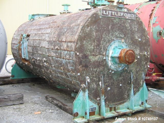 Used Littleford Paddle Mixer; Model FKM8000D