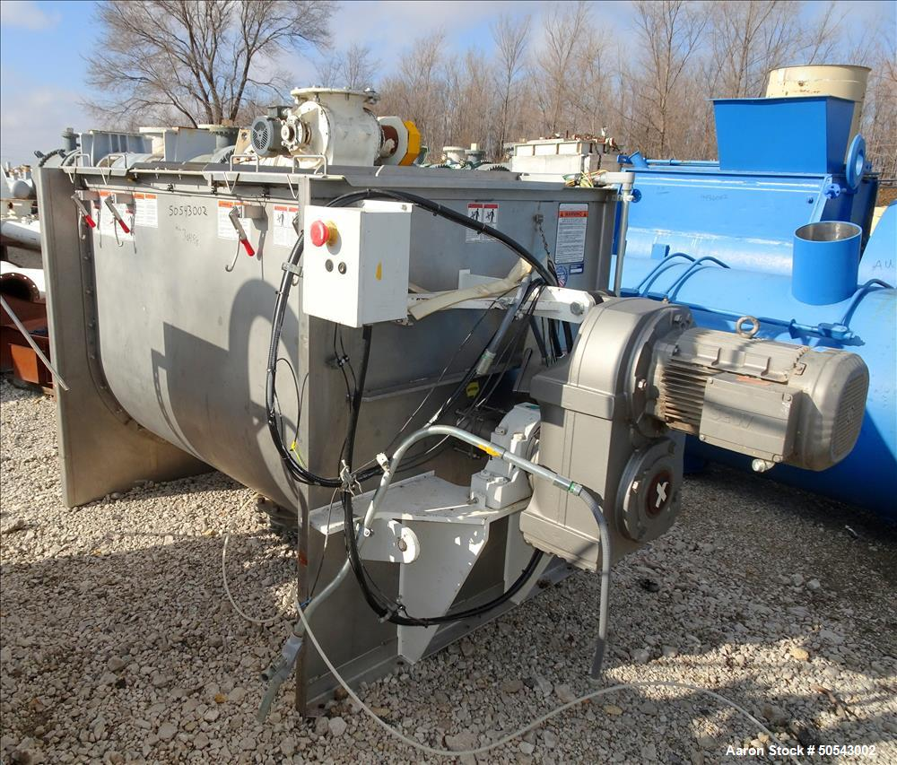 Used- Marion Manufacturing Paddle Mixer, Model BPS4272