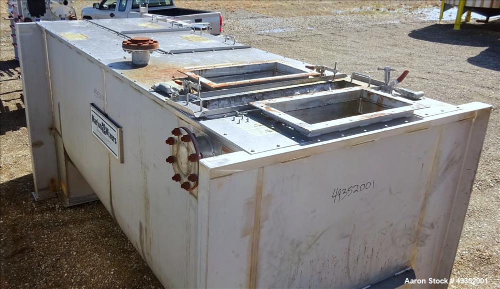 Used- Marion Continuous Paddle Mixer, Model CPS-42144, 94.5 Cubic Feet Capacity