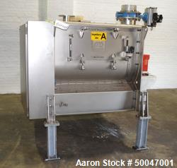 Used- Dinnissen Pegasus Twin Shaft Paddle Mixer, Type 305-500-7,5.