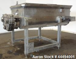 Used- Stainless Steel FPEC Food Processing Equipment Company Twin Shaft Paddle M