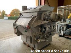 Used- Halvor Forberg AS Batch Paddle Blender/Mixer