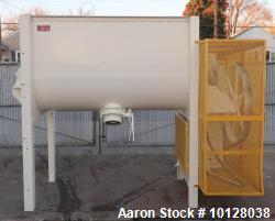 Used- Marion 45 Cubic Foot Paddle Mixer, Model 4020. Series 4000. 45 cubic foot working capacity, 62 cubic foot total volume...