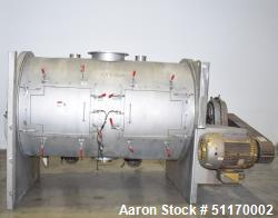 Used- Scott Equipment Industrial Batch Horizontal Paddle Mixer