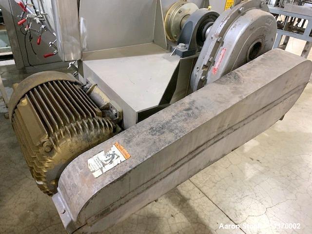 Used- Scott Equipment Industrial Batch Horizontal Paddle Mixer