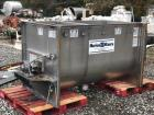 Used Marion paddle mixer, approx 45 cu ft. Model SPY3672. Stainless steel sanitary construction. 36