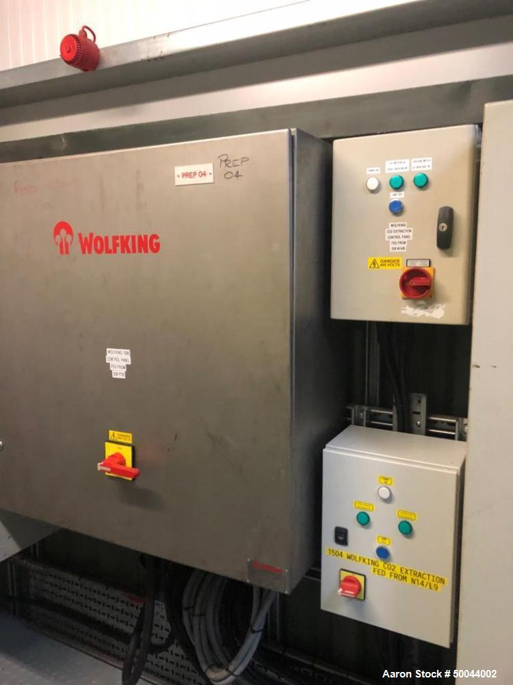 Used- Wolfking Twin Shaft Paddle Mixer