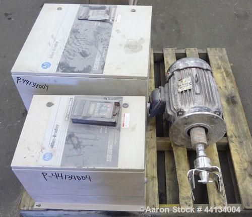 Used- Stainless Steel Baker Perkins Turbosphere Mixer Granulator