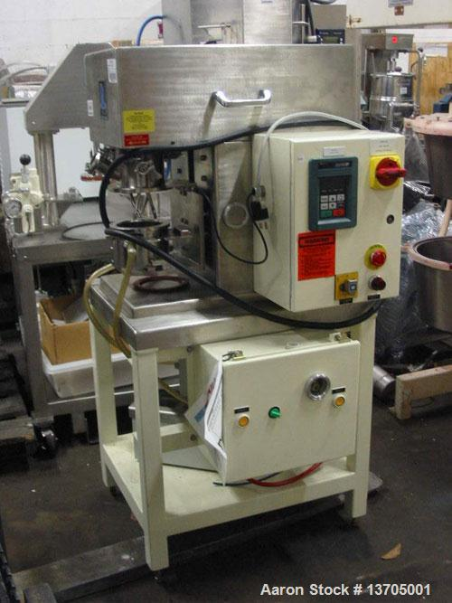 Unused-Used: Ross jacketed vacuum planetary mixer, HV blades, Ross model DPM-1 PINT. All sanitary stainless steel constructi...