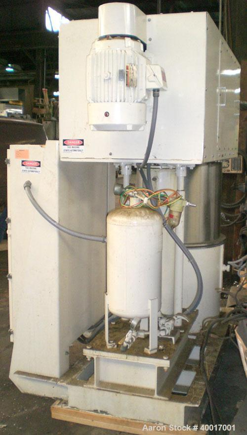 Used: 40 gallon Ross Powermix planetary mixer, model PD-40, stainless steel construction, vacuum rated, (1)   stirrup blade ...