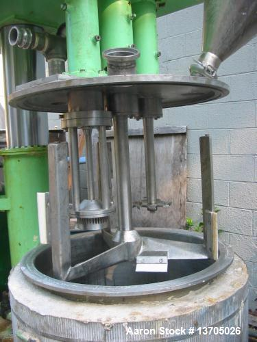 Used-40 Gallon Ross Model PVM-40 Versamix, triple shaft design