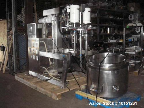 Unused- Fryma, Model VME250 GMP Vacuum Processing Unit.