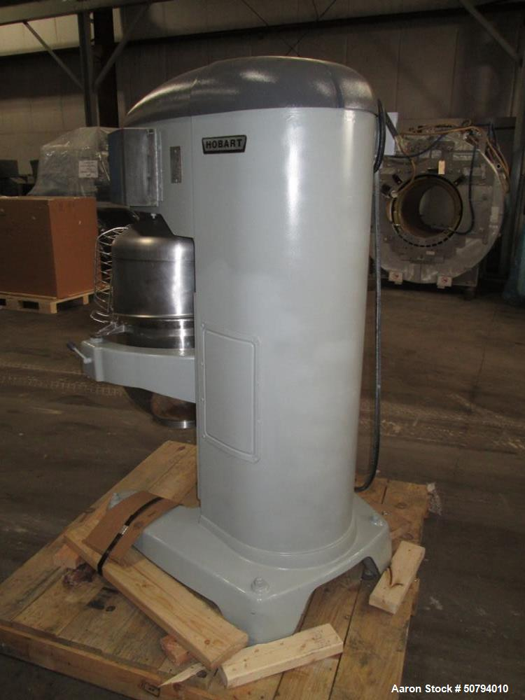 Used- Hobart HL800-1STD 80 Quart Planetary Mixer